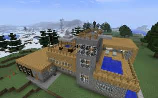 Minecraft Mountain House Pictures To Pin On Pinterest Minecraft Mountain House Plans