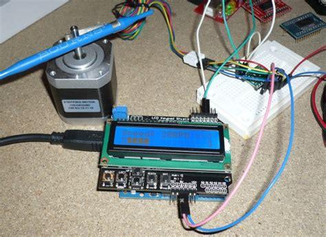 Arduino Motor Dcstepper Dan Servo Shield L293d lucadentella it allegro a4988 e arduino 3