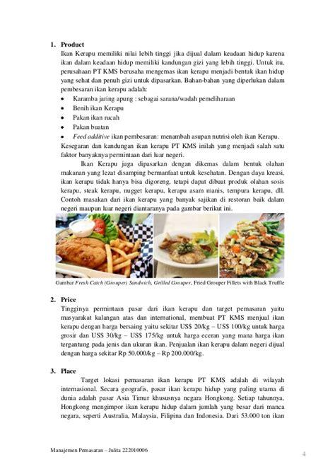 Harga Ikan Rucah by Manajemen Pemasaran Ikan Kerapu