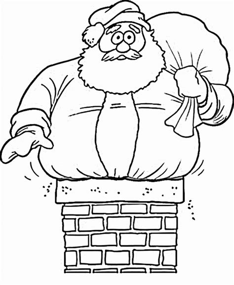 Printable Coloring Pictures Of Santa Claus | free printable santa claus coloring pages for kids