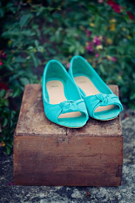 turquoise wedding shoes rustic turquoise wedding inspiration colour ideas