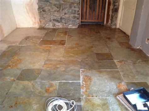 How To Clean A Slate Floor by Work History South Cumbria Tile Doctor