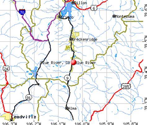 blue river colorado map images blue river colorado co 80424 profile population maps