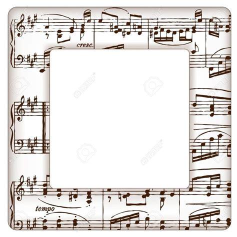 imagenes con notas sarcasticas marcos con notas musicales im 225 genes de archivo vectores