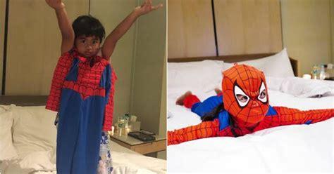 film elsa dan spiderman saat bocah laki laki di amerika ingin jadi putri elsa