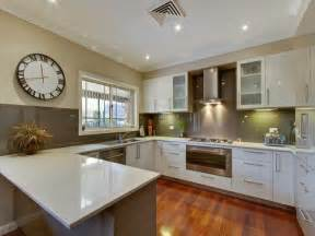 kitchen u shaped design ideas modern u shaped kitchen design using hardwood kitchen