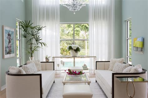 Pinecrest Decorations by Pinecrest Tropical Living Room Miami By