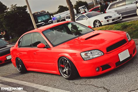 2000 subaru legacy stance slammed legacy on volks stancenation form gt function