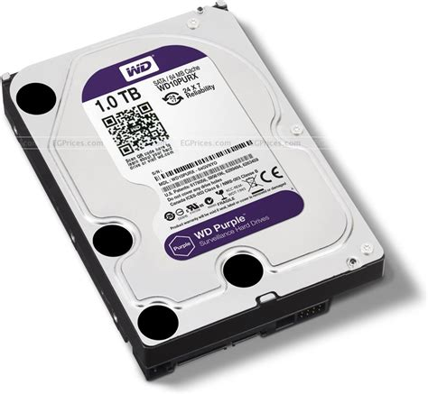 Harddisk Wd Purple 1tb western digital wd purple wd10pur price in el badr egprices