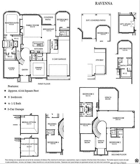 newmark homes avalon floor plan