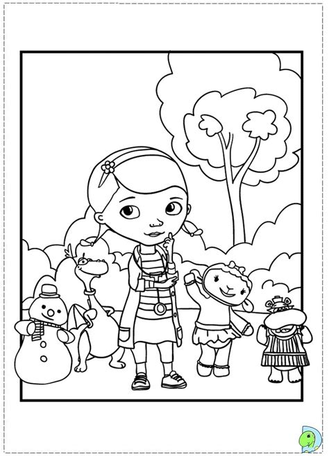 printable coloring pages doc mcstuffins doc mcstuffins pictures to print az coloring pages