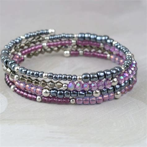 best 25 memory wire bracelets ideas on