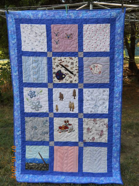 Memory Quilts With Pictures by Memory Anniversary Quilts Quilting By