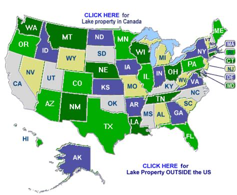 map us lakes maps usa map lakes