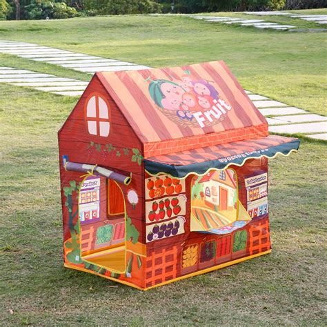 Play Tent House by Toddlers Cubby House Play Tent Indoor Outdoor Pretend