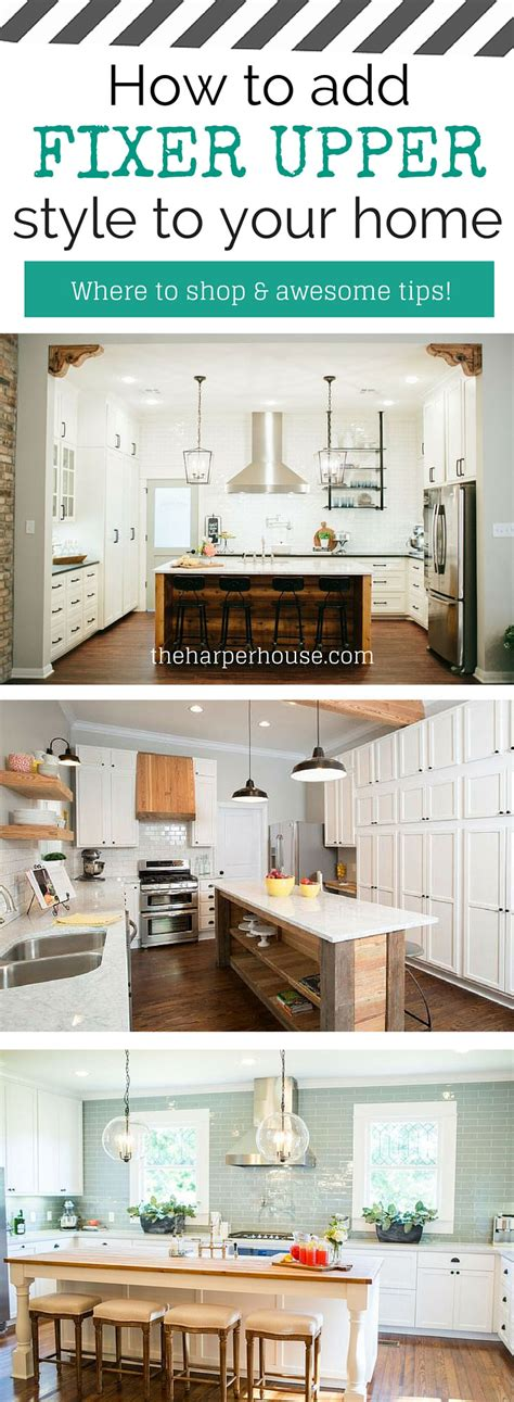 how to get on fixer upper how to add quot fixer upper quot style to your home the harper house