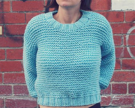 easy sweater knitting pattern patterns to make knitting garter stitch not boring