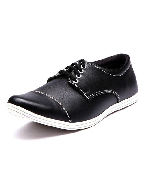 plain black stylish shoes for price in india buy