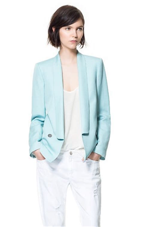 light blue suit jacket womens pale blue womens blazer fashion ql
