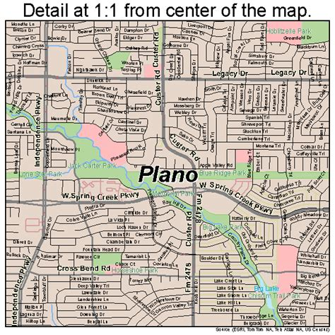 map of texas plano plano texas map 4858016