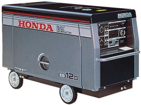 honda portable diesel generator honda eb12d generator parts