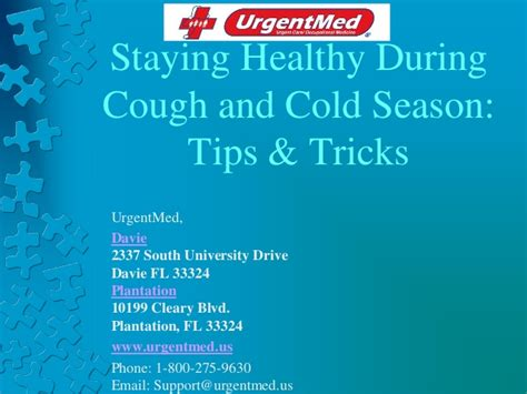 stay healthy during cough and cold season tips and tricks