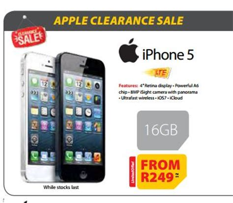 enjoy super experience iphone 5 with indosat new mtn deals iphone 5 at r249pm