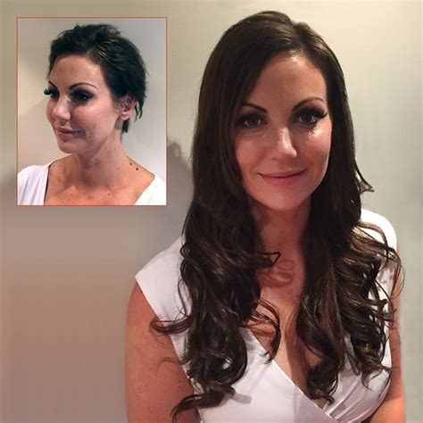 haircut before extensions before and after photos mobile hair extensions sydney