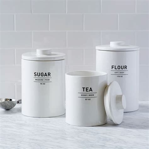 Kitchen Canisters Flour Sugar Win Your Cleaning With These Kitchen Storage