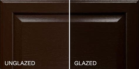 glazed version  espresso stain description