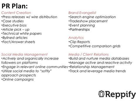 Reppify Pr Plan Pr Plan Template