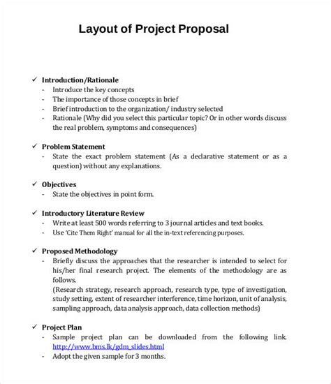 project proposal templates    premium