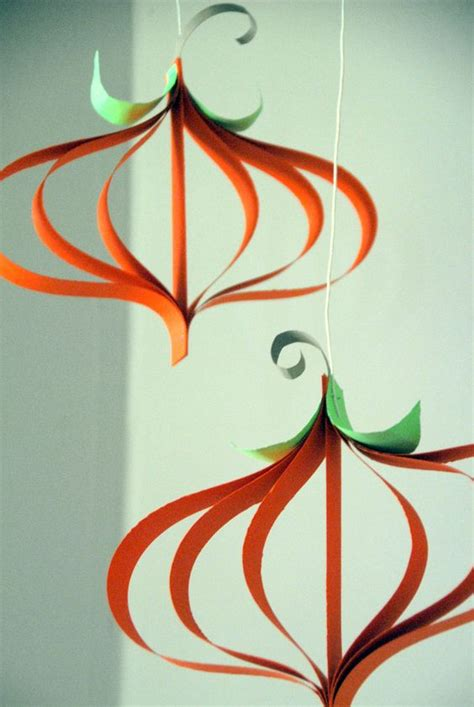 Pumpkin Construction Paper Crafts - curly paper pumpkin craft pumpkin crafts construction