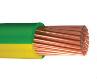 yellow green electric wire earth cable earth wire 1 5 2 5