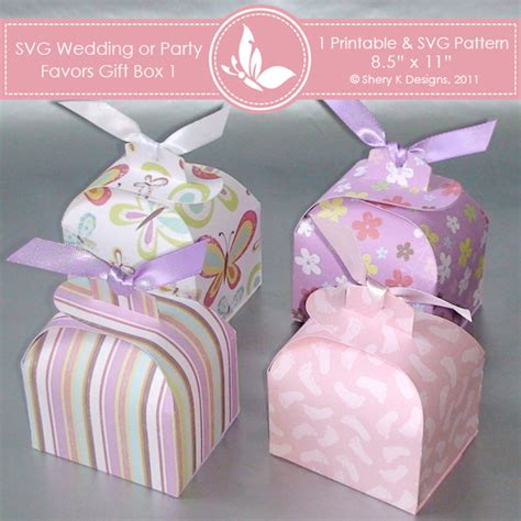 templates boxes for favors gifts svg printable favors gift box 1 shery k designs