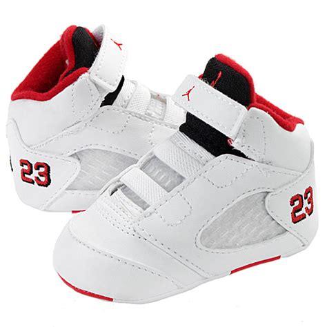 Retro Crib Shoes by Nike 5 Retro Gp Crib 552494 120 Baby Shoes