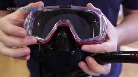 tusa visio tri ex mask tusa visio tri ex mask and snorkel set www simplyscuba