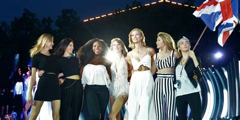 taylor swift style hyde park taylor swift brought out her best crew yet for her show at