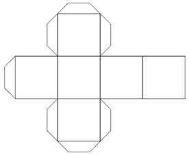 cube box template 4 best images of cube box template printable blank cube