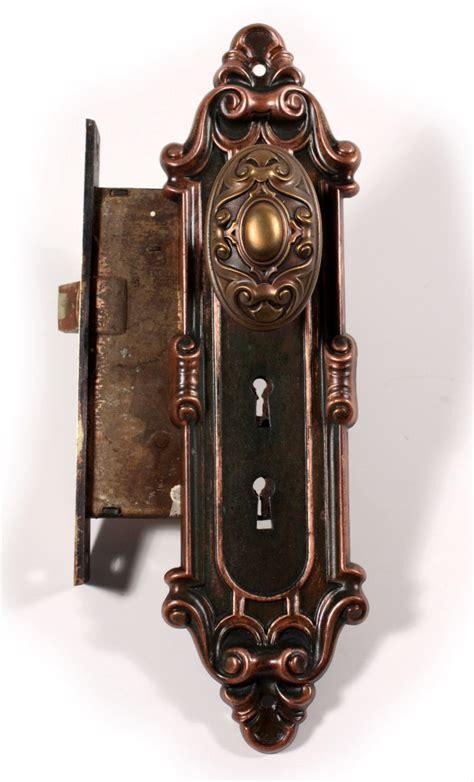 Vintage Exterior Door Hardware Vintage Exterior Door Hardware Antique Exterior Figural Door Hardware Set With Dragons Cast