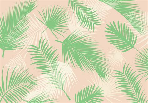 palm leaf pattern vector   vector art stock