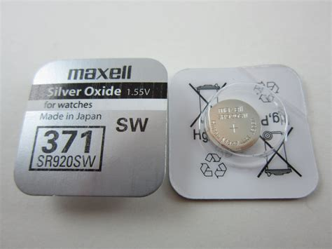 Dijamin Button Cell Maxell 371 Sr920sw maxell 4x sr920sw 371 1 55v silver oxide button cell batteries msgamesnnsupplies