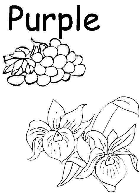 Coloring Pages Color Worksheets For Preschool Other Color Coloring Pages