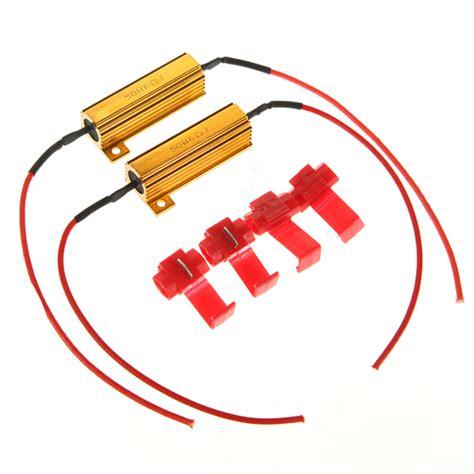 best led load resistor flash rate load resistors led turn signals controllers us 4 21