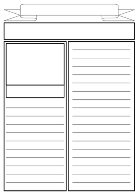 newspaper report template ks3 newspaper report planning template by nahoughton uk