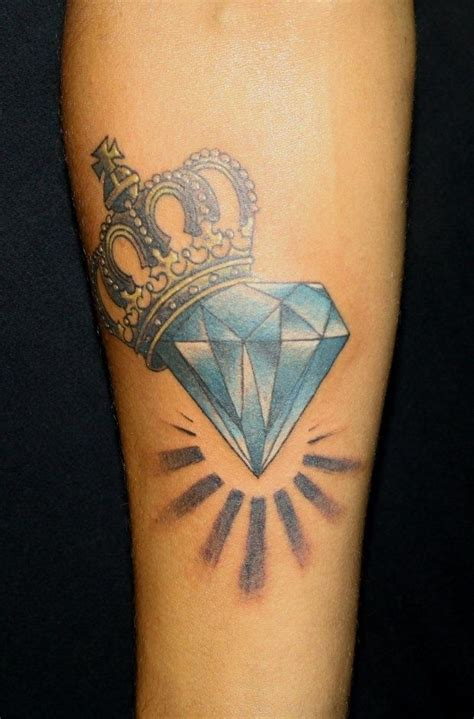 tattoo diamond crown 78 best images about diamond tattoos on pinterest ribs