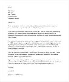 Certification Letter Interview thank you letter for interview 8 free sample example format