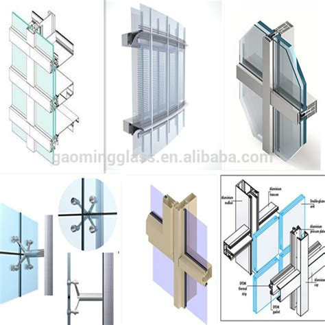 glazed curtain wall double glazing glass curtain wall price buy curtain wall