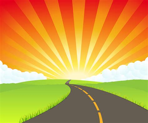 endless road clipart   cliparts  images