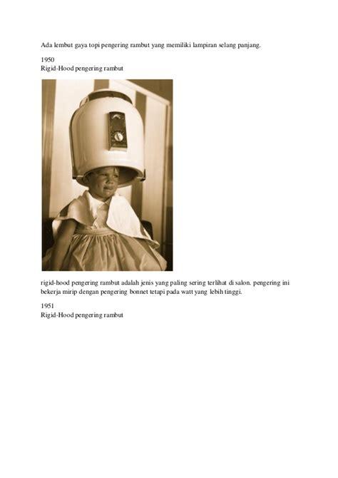Hair Dryer Watt Paling Kecil sejarah hair dryer pengering rambut